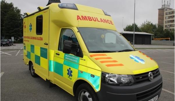 Vlak srazil v Přerově muže, utrpěl zranění