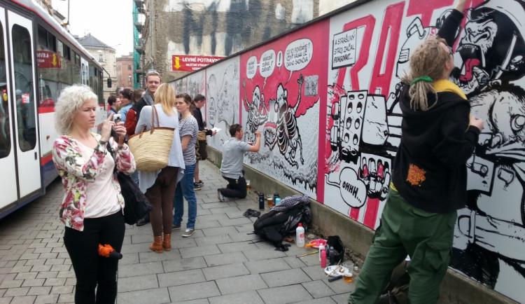 Komiksoví kreslíři vzdali v Olomouci hold Saudkovi