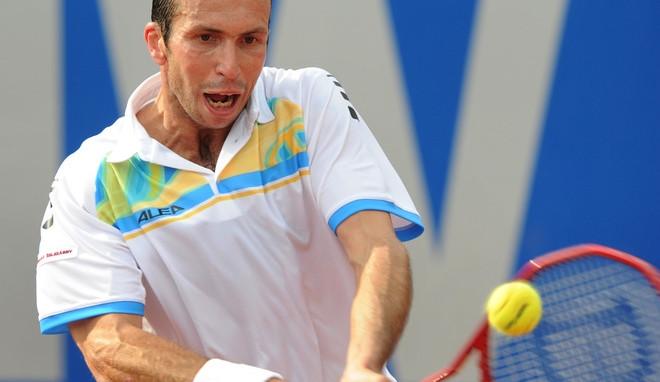 Kvarteto českých tenistů postoupilo v Prostějově do čtvrtfinále