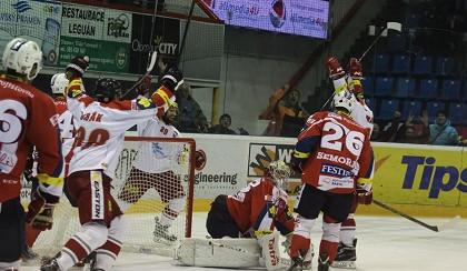 Olomouc s přispěním dvou tref Cibáka porazila Pardubice 4:2