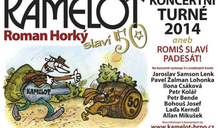 Csáková, Bende a Kamelot v Olomouci!