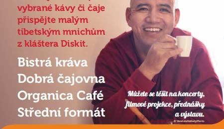 Dejte si šálek kávy či čaje a pomůžete tak dobré věci