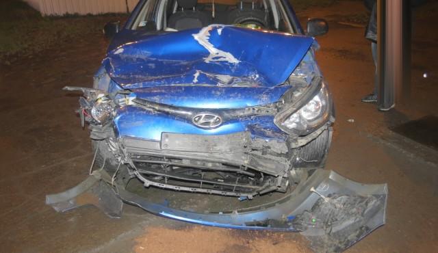 Opilý řidič způsobil nehodu 4 aut v Olomouci U Podjezdu