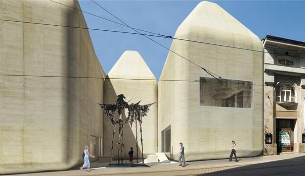 Snaha o realizaci přístavby nového Muzea umění je opět v jednání