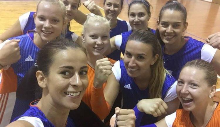 Olomoucké volejbalistky si z běloruského Baranovichi přivezly turnajové třetí místo