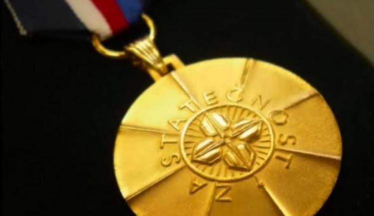 Medailí za statečnost budou za své činy oceněni i dva občané z Olomouckého kraje
