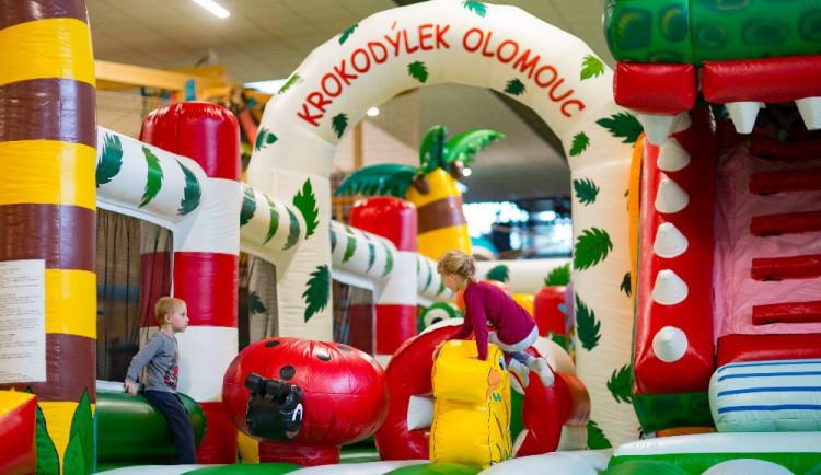 V Olomouci otevřel nový zábavní park Krokodýlek, nabízí téměř třicet atrakcí pod jednou střechou
