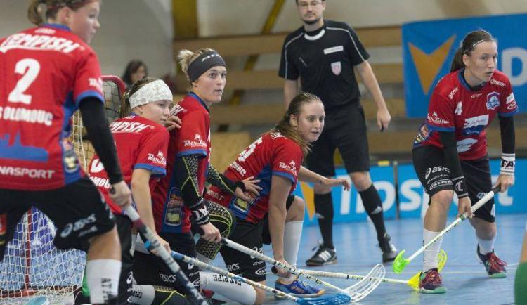 Olomoucké florbalistky se dál trápí, s Panthers Praha prohrály i přes hattrick kapitánky 5:3