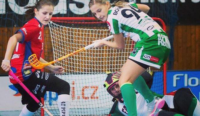 Olomoucké florbalistky nezvládly poslední zápas v roce, proti Bohemians prohrály 6:2