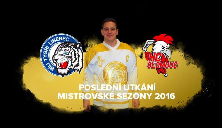 Poslední domácí utkání odehrají Tygři z Liberce proti Olomouci ve speciálních zlatých dresech