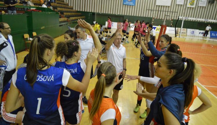 Olomoucké volejbalistky vyhrály doma nad Brnem 3:1, nejvíce bodovala Chorvatka Bernarda Čutuk