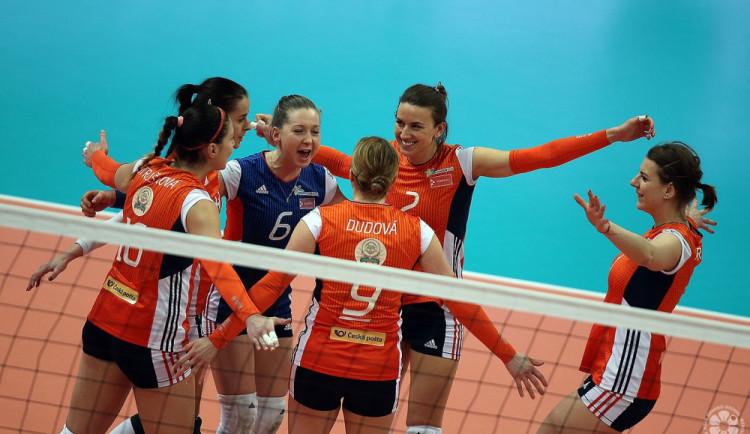 V dalekém Rusku se zázrak nekonal, Olomoučanky podlehly týmu Kazaně ve třech setech