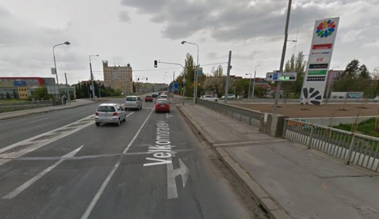 Most na Velkomoravské čeká částečná uzavírka, přinese změny v dopravě