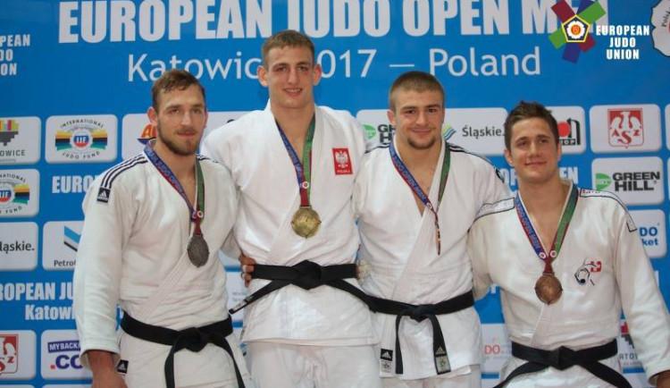 Olomoucký judista David Klammert získal bronz na světovém poháru