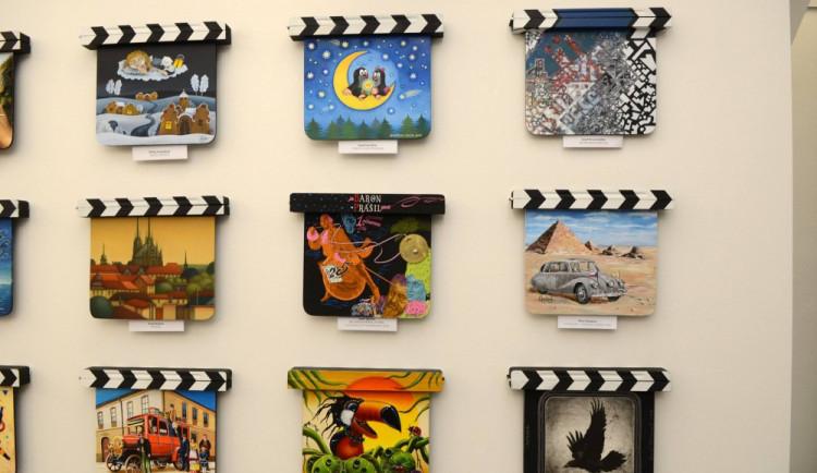 Zlín Film Festival představuje v Olomouci originální filmové klapky