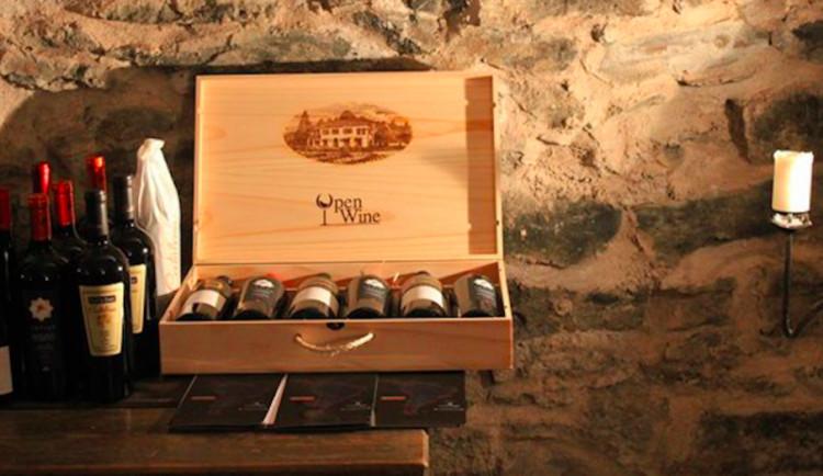Nadělte si pod stromeček exkluzivní víno z olomouckévinotéky OpenWine