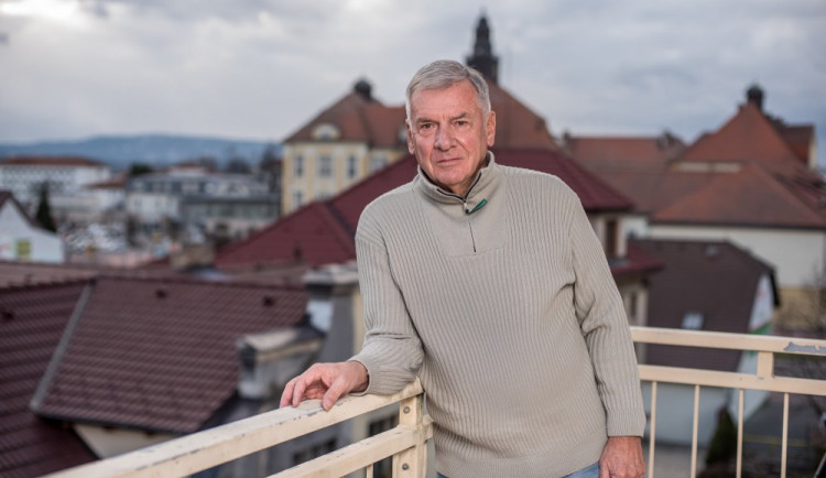 Horní a Dolní náměstí vOlomouci poznám, tvrdí Vratislav Kulhánek