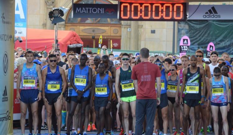 Olomoucký půlmaraton se letos poběží 23. června. Závodníci budou moci využít novou oficiální aplikaci