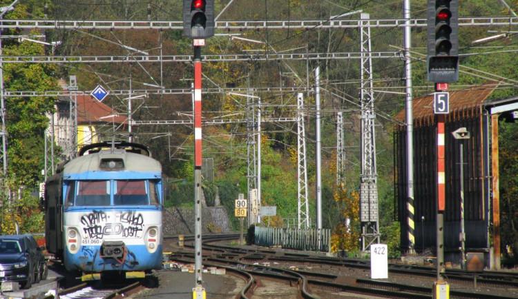 Člověk zemřel po střetu s vlakem na Olomoucku