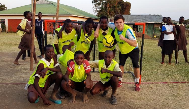 ROZHOVOR: Olympiádu pro děti v Keni chci uspořádat znovu, říká Olomoučan Tomáš Zapletal