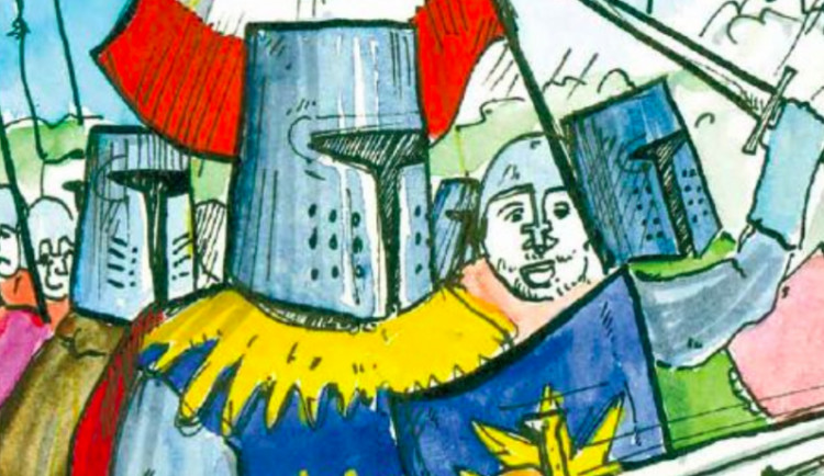 Historii Šternberka připomíná nový komiks