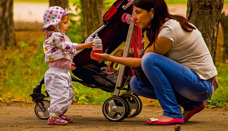 Matka s kočárkem nadýchala přes dvě a půl promile, o dítě se musela postarat babička