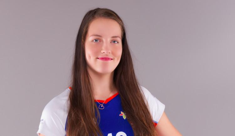 Gabriela Orvošová – volejbalová Olomouc má diamant, i když zatím nevybroušený
