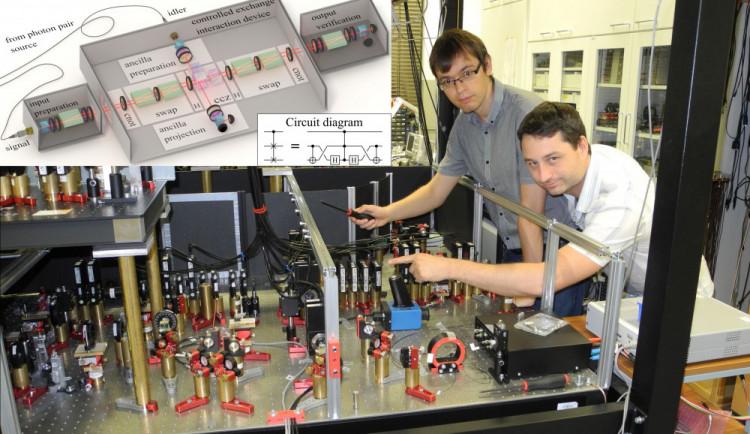 Olomoučtí vědci z katedry optiky sestrojili světově unikátní detektor kvantových vlastností světla