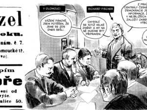 Univerzita Palackého ke 100. výročí republiky pokřtila komiks. Jeho tvůrci jsou Ticho762 a Martin Šinkovský