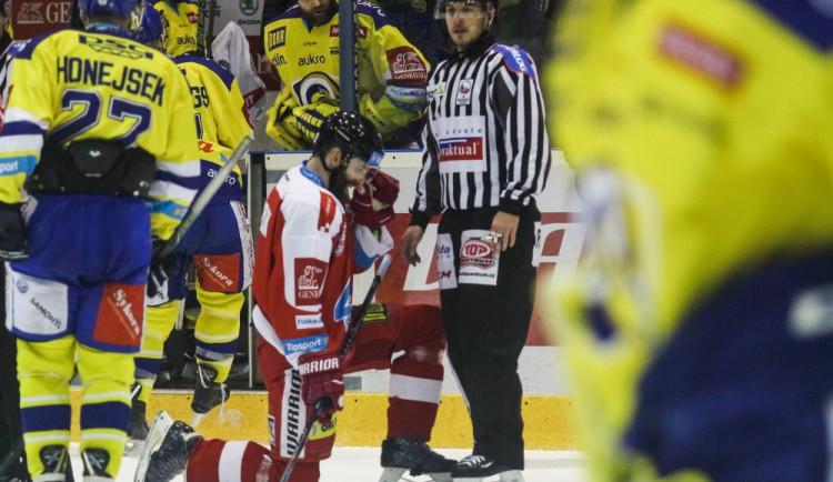 Vítězná série Olomouce skončila ve Zlíně. Kohouti prohráli 0:4