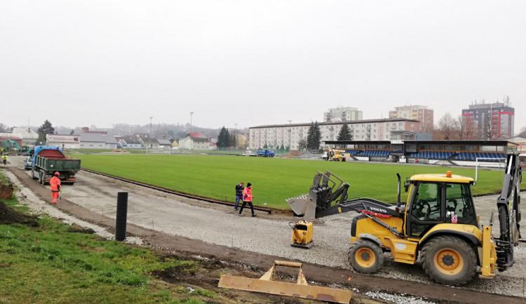 V Zábřehu probíhá rekonstrukce atletického oválu, naposledy byl modernizován v roce 1965