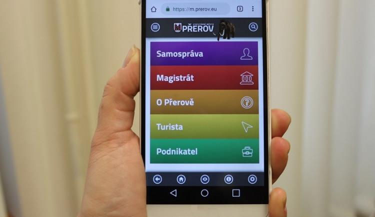 Přerov zavede pro obyvatele Mobilní rozhlas, lidé mohou dostávat informace z města e-mailem a smskami