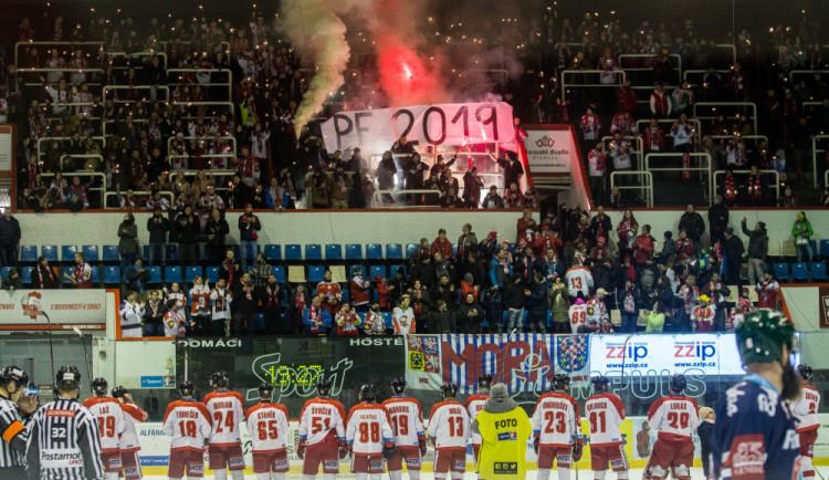 FOTOGALERIE: Mora v posledním zápasu roku prohrála s Vítkovicemi 2:5