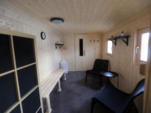 Na Poděbradech se otevřela přírodní sauna. V Olomouckém kraji je jediná svého druhu