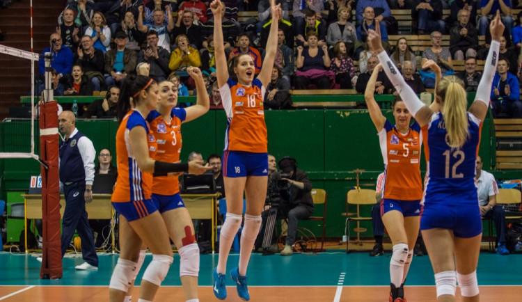 Volejbalistky Olomouce se vLiberci vrátily na vítěznou vlnu, vyhrály 3:0