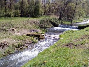 Ondřejovický potok, který před pěti lety poškodila povodeň, má opravené koryto