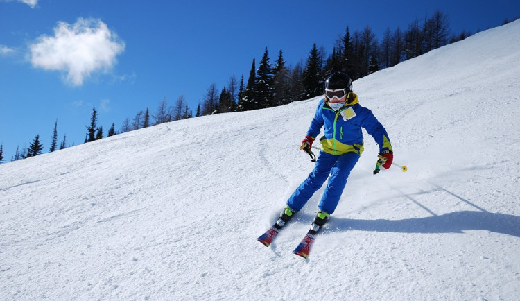 V Jeseníkách jsou i přes oteplení dobré lyžařské podmínky, sněhu je dostatek