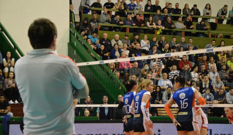 Olomoucké volejbalistky porazilypražský Olymp, ale rozhodovaly až koncovky setů