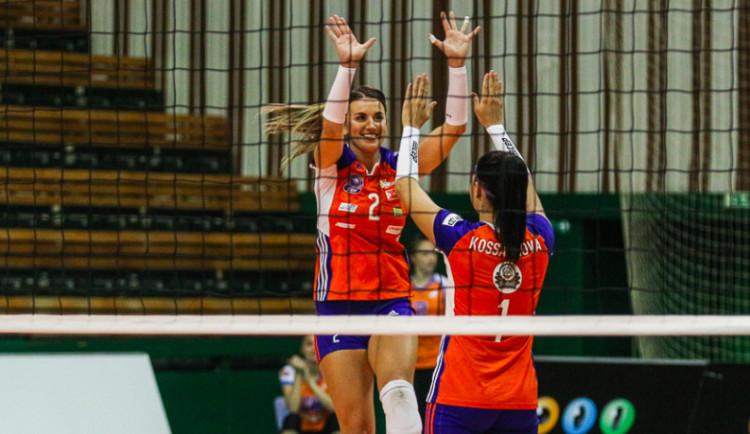 Volejbalistky Olomouce i popáté v sezoně porazily mistryně z Prostějova