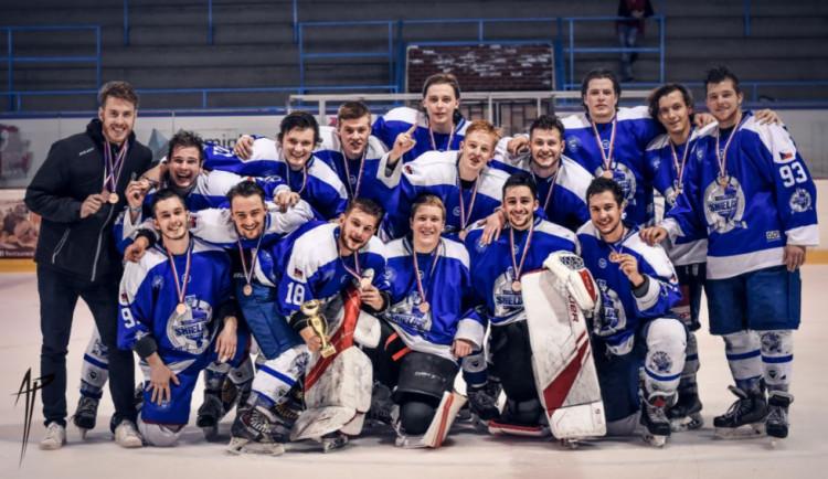 Olomoučtí univerzitní hokejisté vybojovali na Akademickém mistrovství ČR bronz
