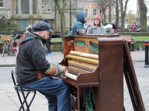 Olomoucká iniciativa Zaparkuj spojí síly s pouličními muzikanty