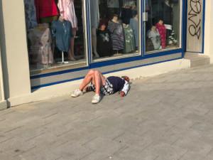Student sociologie dělal výzkum mezi olomouckými bezdomovci. Někdo na něj zavolal policii