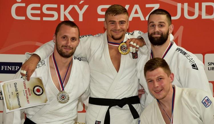 Olomoučtí judisté získali čtyři tituly Mistrů České republiky vkategorii mužů a žen