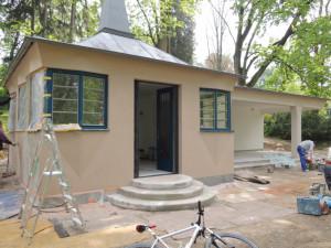 Nové využití pro nově opravený altán v parku hledá Šternberk