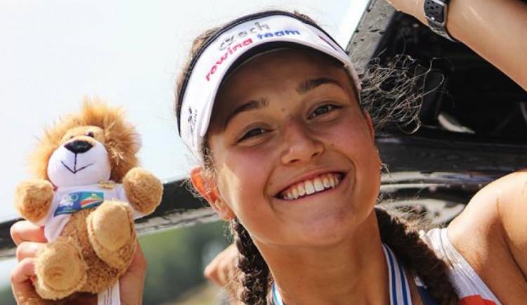 Olomoucká veslařka Emma Benýšková získala bronz namistrovství Evropy