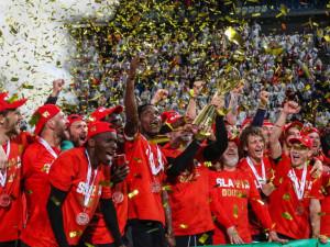 FOTOGALERIE: Finále MOL Cupu v Olomouci ovládla Slavia. Nad Baníkem vyhrála 2:0