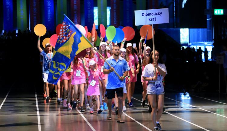 Do Olympiády dětí a mládeže zbývá necelý měsíc, svou výpravu vyšle i Olomoucký kraj