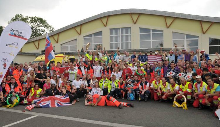 Rallye Rejvíz v Jeseníkách vyhrály posádky zdravotníků z jižní Moravy, USA a Košic