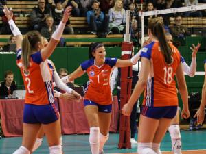 Volejbalistky zahájily Evropskou ligu výhrou ve Švédsku, zaskvěla se olomoucká Kossányiová