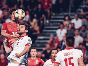 Česká republika porazila v Olomouci Černou Horu 3:0. Spravil jsem si chuť, řekl Schick